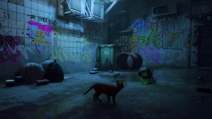 A cat is still a cat even in this gameplay trailer for Stray, will release 2022