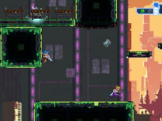 Aeon Drive gameplay trailer shows off co-op dashing and clashing