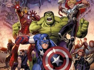 New spread of Marvel Comics covers celebrates a the MCU's Phase One