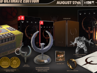 Quake collector's edition rumbles onto Limited Run Games
