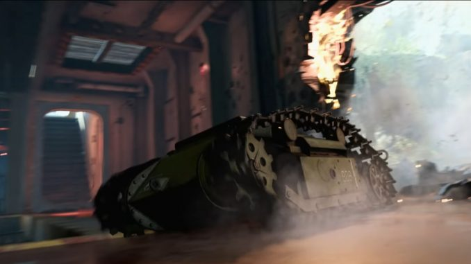Vanguard brought a mini-tank to its multiplayer gameplay reveal trailer