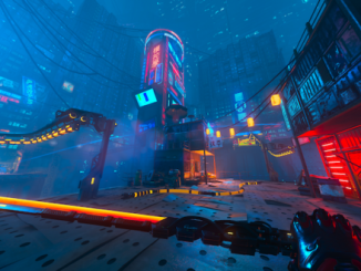 Cyberpunk action/parkour title Ghostrunner hits current-gen today