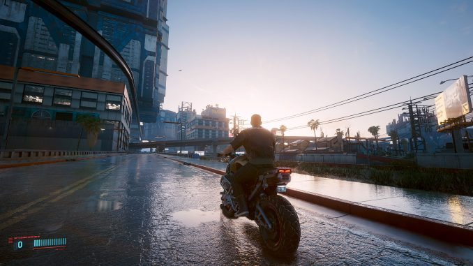 Cyberpunk 2077 has even more fixes and wetter roads with patch 1.31