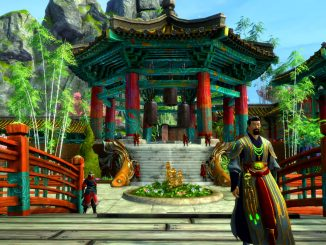 Take a tour of Shing Jea Island from Guild Wars 2: End of Dragons