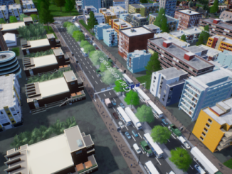 Video: The latest look at Highrise City walks you through terraforming and building infrastructure